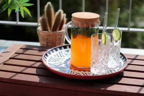 Ayurvedische Limonade