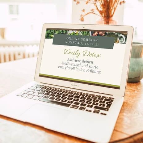 Kostenloses Online Seminar - Aktiviere deinen Stoffwechsel