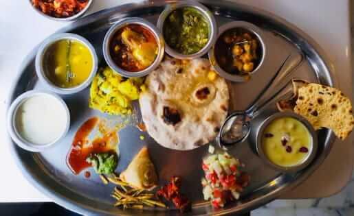 Mittagessen auf ayurvedisch