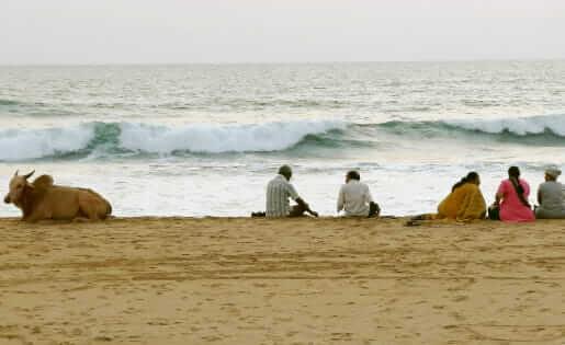 Goa, Strand in Agonda