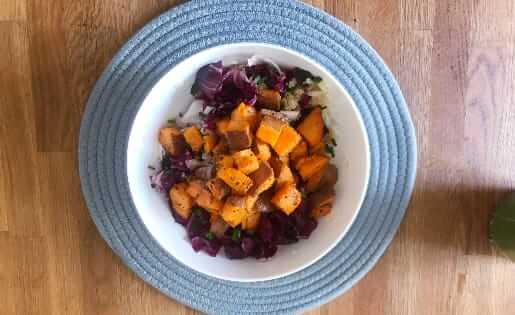Quinoa-Salat mit Süßkartoffel
