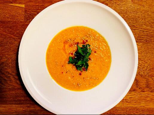 Rezept für eine ayurvedische Kürbissuppe