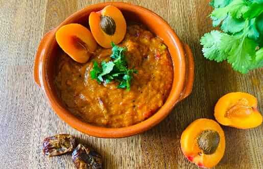Aprikosen-Dattel Chutney Ayurveda Rezept