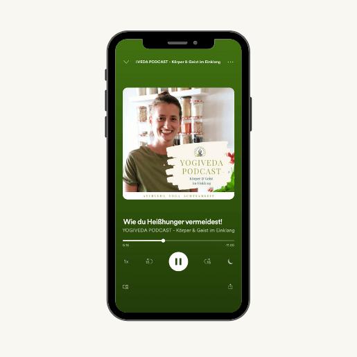 Yogiveda Podcast, der Podcast über Ayurveda, Yoga und Ernährung