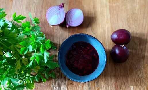 Pflaumen-Zwiebel-Chutney Rezept aus der ayurvedischen Küche