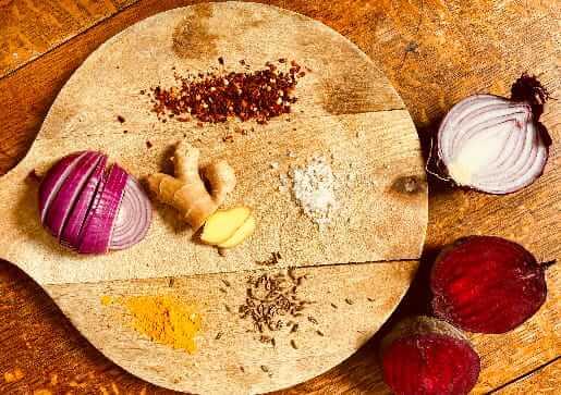Ayurvedisches Rezept - Rote Beete aus dem Backofen