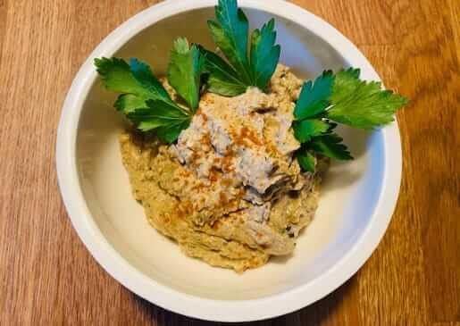 Auberginen-Sesam Dip (Baba Ganoush) - Ayurvedische Rezepte