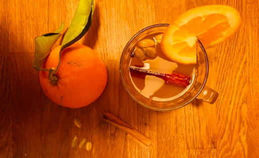 Ayurvedischer Apfelpunsch - ein Weihnachtsgetränk